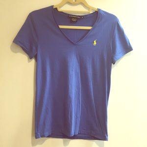 Ralph Lauren sport blue soft t shirt